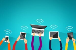 Always connected – Or the life around wifi hotspots